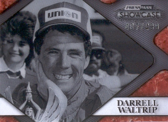 2010 Press Pass Showcase Racing's Finest #RF7 Darrell Waltrip