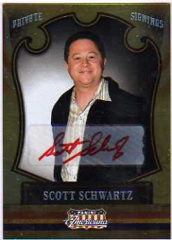 2011 Americana Private Signings #37 Scott Schwartz/199