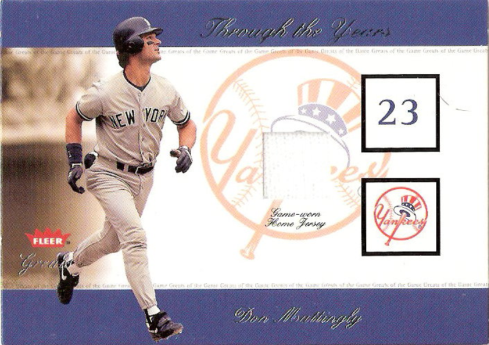2002 Greats of the Game Through the Years Level 1 #12 Don Mattingly