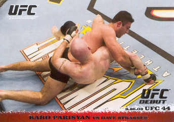 2009 Topps UFC Round 1 #16 Karo Parisyan/Dave Strasser