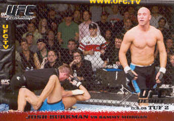 2009 Topps UFC Round 1 #28 Josh Burkman/Sammy Morgan
