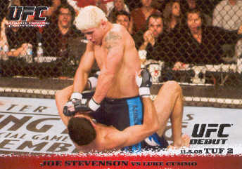 2009 Topps UFC Round 1 #29 Joe Stevenson/Luke Cummo