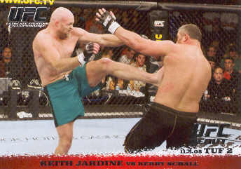 2009 Topps UFC Round 1 #30 Keith Jardine/Kerry Schall