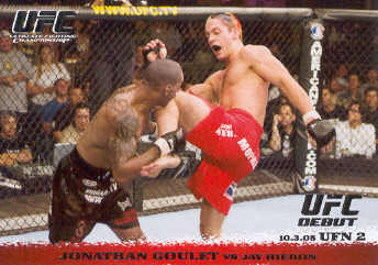 2009 Topps UFC Round 1 #35 Jonathan Goulet/Jay Hieron