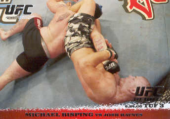 2009 Topps UFC Round 1 #42 Michael Bisping/Josh Haynes