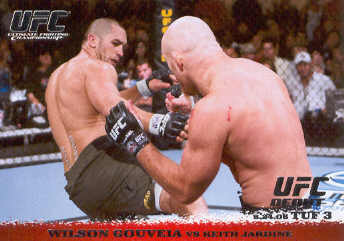 2009 Topps UFC Round 1 #45 Wilson Gouveia/Keith Jardine