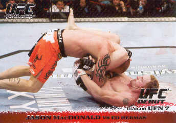 2009 Topps UFC Round 1 #54 Jason MacDonald/Ed Herman