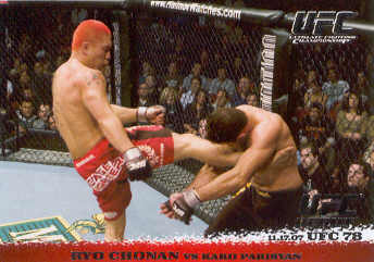 2009 Topps UFC Round 1 #72 Ryo Chonan/Karo Parisyan