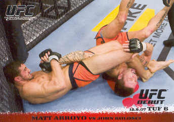 2009 Topps UFC Round 1 #74 Matt Arroyo/John Kolosci