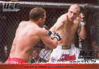 2009 Topps UFC Round 1 #78 Luiz Cane/James Irvin