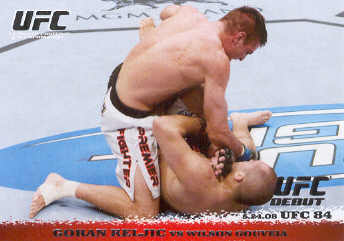 2009 Topps UFC Round 1 #83 Goran Reljic/Wilson Gouveia