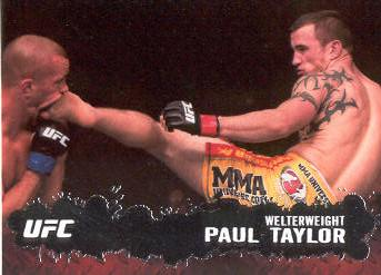 2009 Topps UFC #4 Paul Taylor
