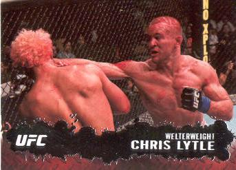 2009 Topps UFC #7 Chris Lytle