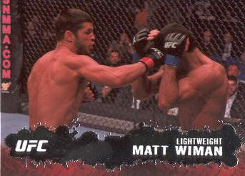 2009 Topps UFC #10 Matt Wiman