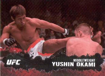 2009 Topps UFC #13 Yushin Okami