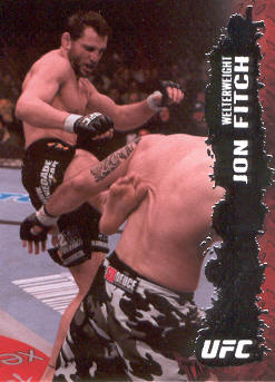2009 Topps UFC #14 Jon Fitch