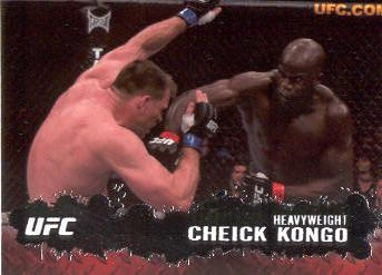 2009 Topps UFC #15 Cheick Kongo