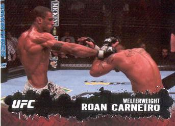 2009 Topps UFC #17 Roan Carneiro