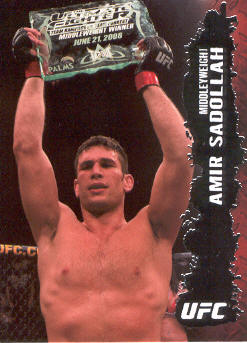 2009 Topps UFC #18 Amir Sadollah