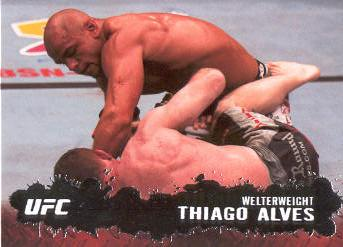 2009 Topps UFC #22 Thiago Alves