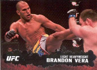 2009 Topps UFC #24 Brandon Vera