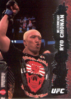 2009 Topps UFC #29 Ryo Chonan
