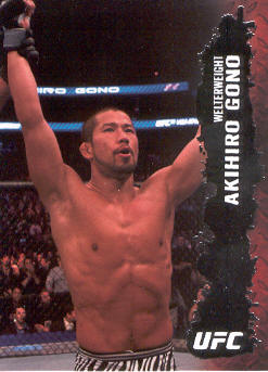 2009 Topps UFC #31 Akihiro Gono