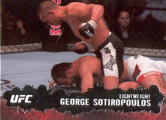 2009 Topps UFC #36 George Sotiropoulos