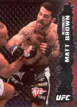 2009 Topps UFC #41 Matt Brown