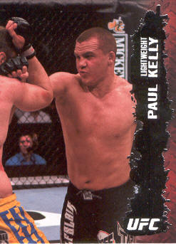 2009 Topps UFC #42 Paul Kelly