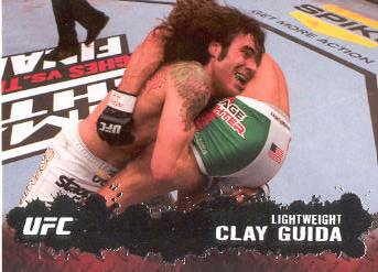 2009 Topps UFC #45 Clay Guida