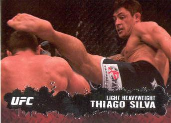 2009 Topps UFC #48 Thiago Silva