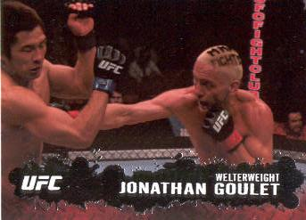 2009 Topps UFC #49 Jonathan Goulet