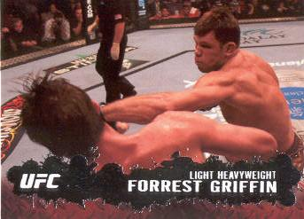 2009 Topps UFC #50 Forrest Griffin