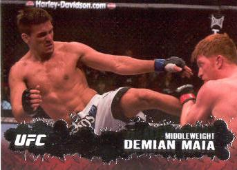 2009 Topps UFC #54 Demian Maia