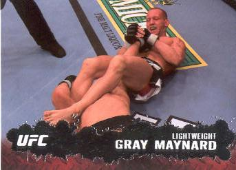2009 Topps UFC #57 Gray Maynard