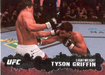 2009 Topps UFC #60 Tyson Griffin