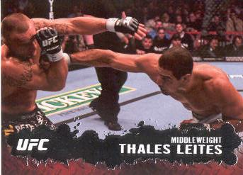 2009 Topps UFC #63 Thales Leites
