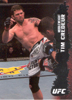2009 Topps UFC #64 Tim Credeur