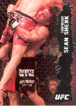 2009 Topps UFC #65 Sean Sherk
