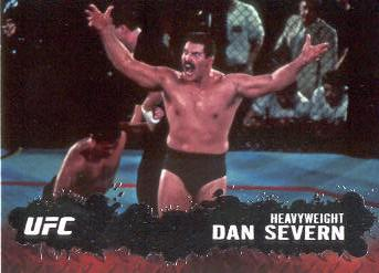 2009 Topps UFC #72 Dan Severn