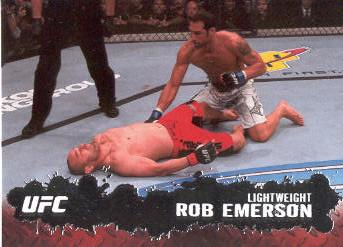 2009 Topps UFC #78 Rob Emerson