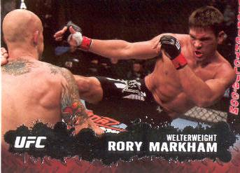 2009 Topps UFC #80 Rory Markham
