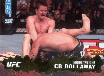 2009 Topps UFC Gold #5 CB Dollaway
