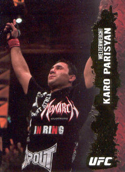 2009 Topps UFC Gold #12 Karo Parisyan