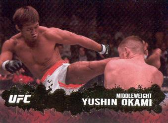 2009 Topps UFC Gold #13 Yushin Okami