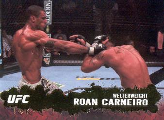 2009 Topps UFC Gold #17 Roan Carneiro