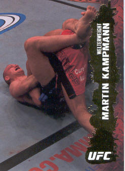 2009 Topps UFC Gold #32 Martin Kampmann