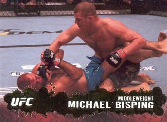 2009 Topps UFC Gold #43 Michael Bisping