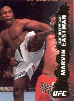 2009 Topps UFC Gold #53 Marvin Eastman